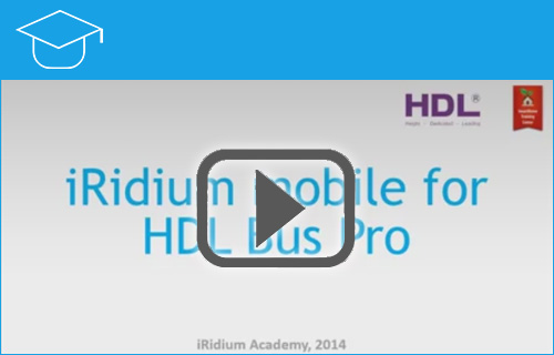 iRidium for HDL BusPro